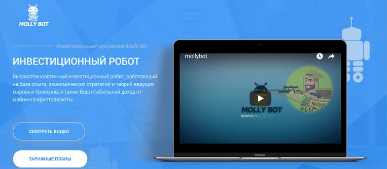 molly bot logo